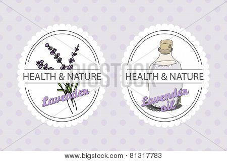 Health and Nature Collection. Lavender