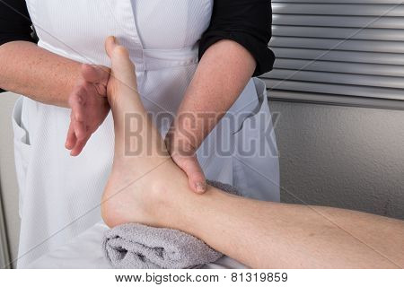 Acupressure Massage For A Man