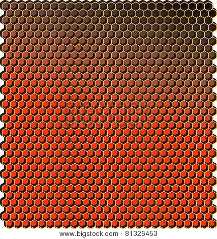 honeycomb pattern vector geometric for shape