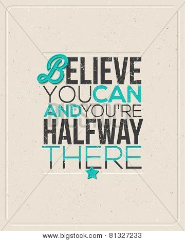 Quote Typographical design - vector illustration