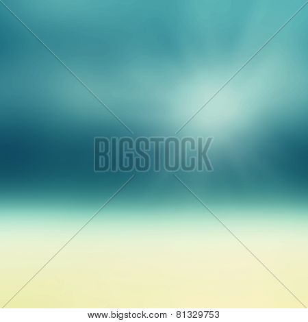 Beautiful Abstract Beach And Tropical Sea. Blur Abstract Summer Photo For Your Design.