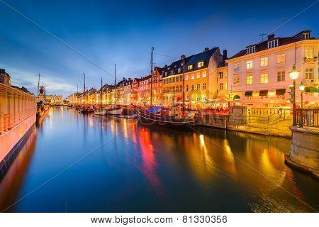 Nyhavn Canal of Copenhagen