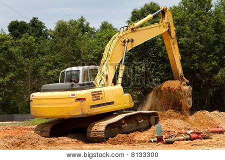 Backhoe Earthmover