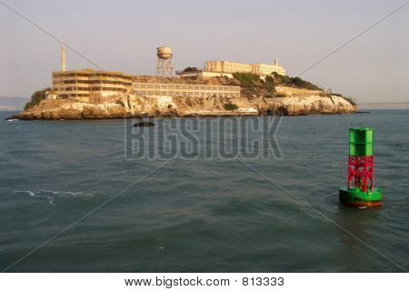 Alcatraz Island and Buoy