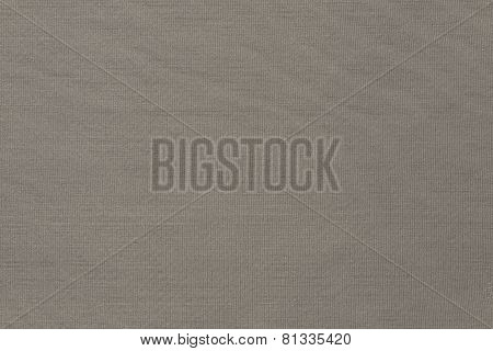 Texture Of Beige Knitted Fabric In A Herringbone