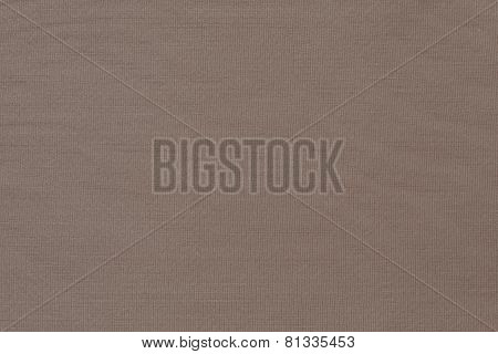 Texture Of Brown Knitted Fabric In A Herringbone