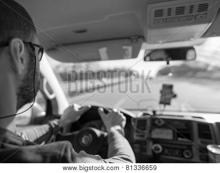 Steering Man