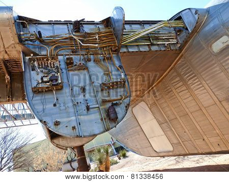 TUSCON, USA - JUNE  7, 2013: aircraft in the Pima Air and space Museum