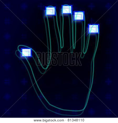 Fingerprint Hands