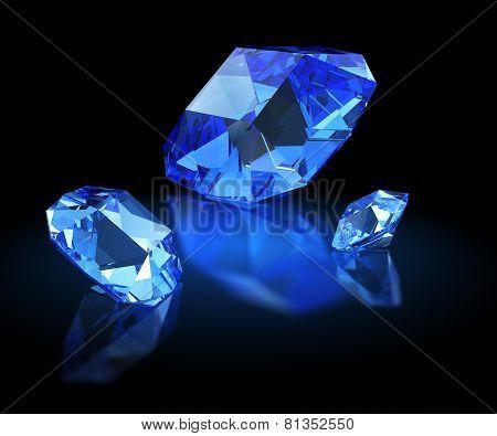 Three Sapphires