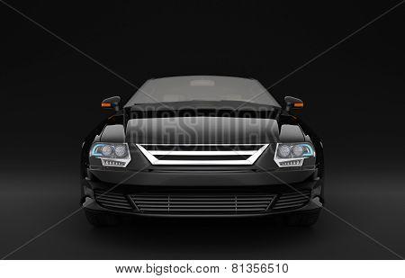 Black Business Sedan
