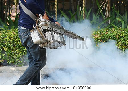 Fogging To Prevent The Dengue Fever