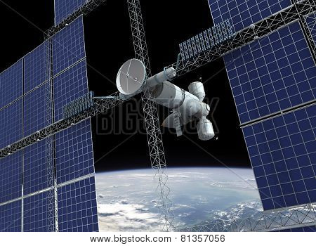 Orbiting Space Station