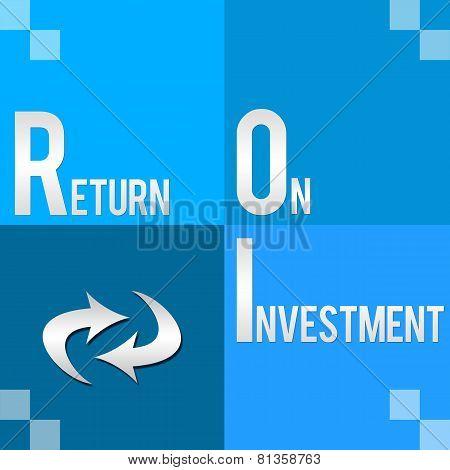 ROI - Return On Investment Four Blocks
