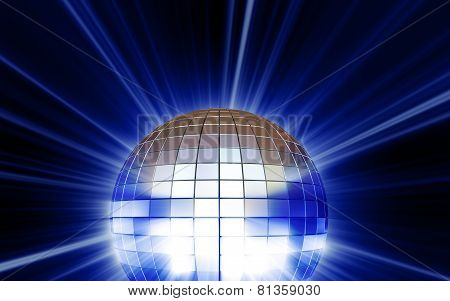 Shining Disco Mirrorball