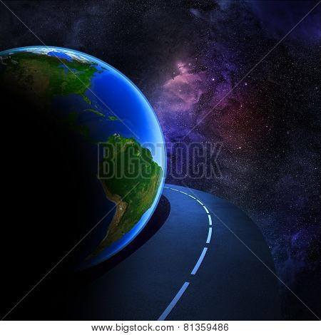 Speedy Highway Around Earth