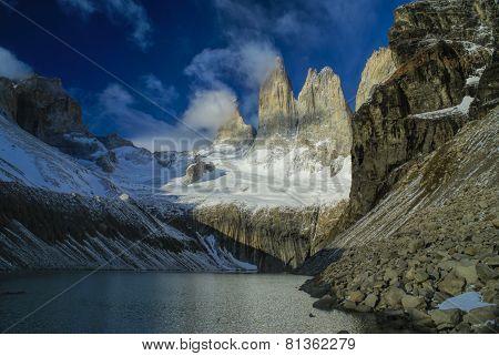 Torres Del Paine In Argentina