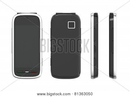 Mobile Phone On All Sides