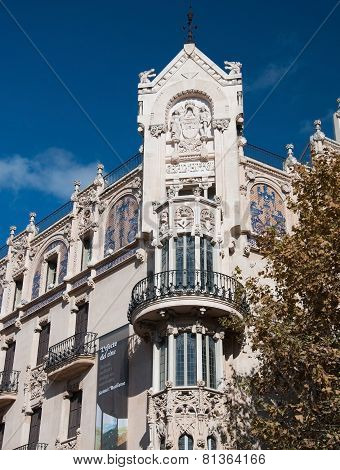 Gran Hotel in Art Nouveau or Modernista style