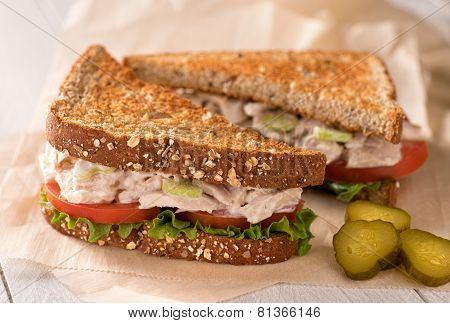 Chunky Tuna Salad Sandwich