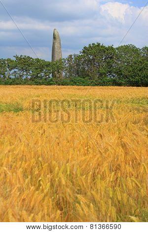 Menhir De Kerloas, Brittany, France