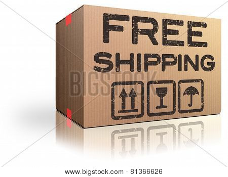 Free Shipping Webshop Order