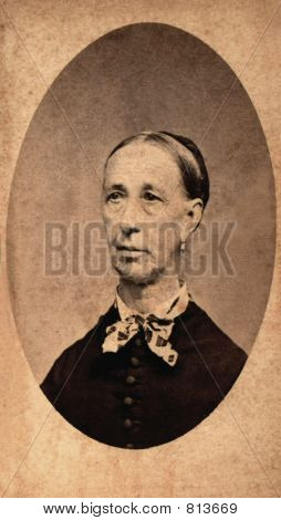 Vintage Woman 1879 photo