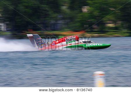 Oberto Hydroplane Boat