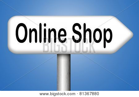 internet web shop online shopping icon
