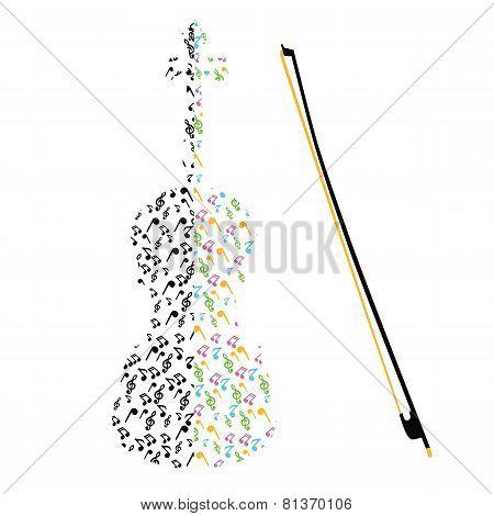 Unusual Violin