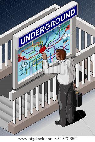 Isometric Under ground Map -