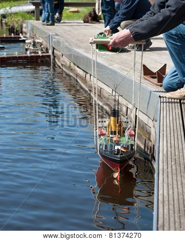 Remote-controlled boats