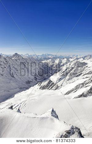 Swiss Alpine Jungfrau Region Landscape