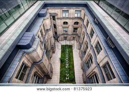 Courtyard Of The Reichstag