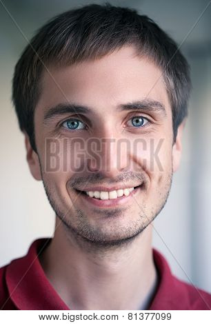Man Smiling Portrait