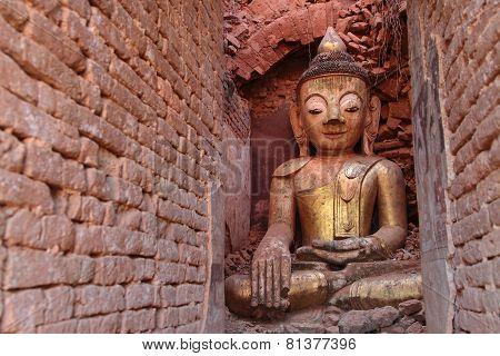 Buddha of Indein pagodas
