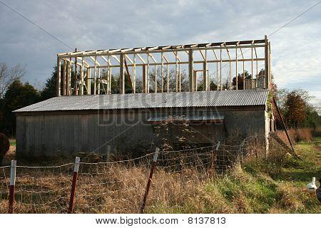 building a barn