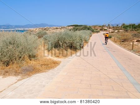 Biking Outside Palma