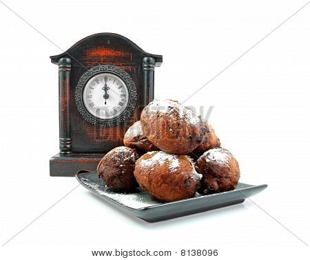 Dutch Donut Also Known As Oliebollen