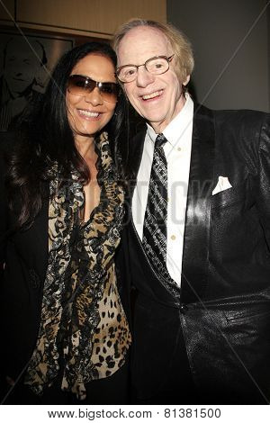 LOS ANGELES - JAN 28: Sheila E, Ken Kragen at the 30th Anniversary of 'We Are The World' at The GRAMMY Museum on January 28, 2015 in Los Angeles, California