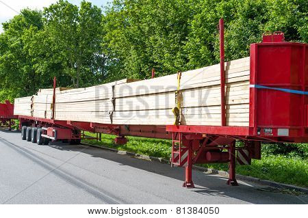 Wood heavy transport