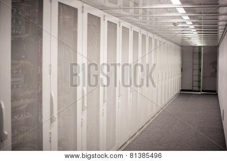 Serverrack in Data Center