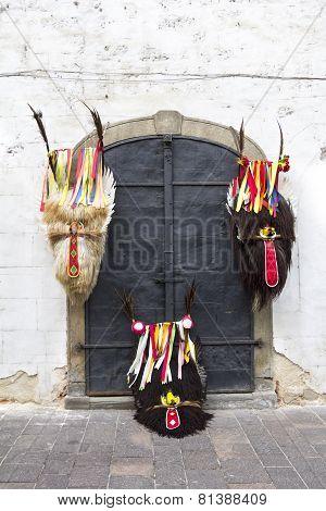 Three Carnival Mask