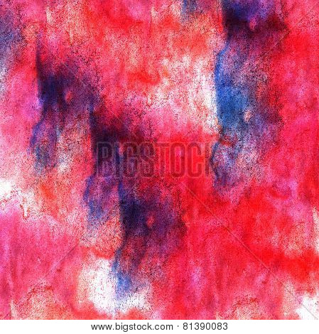art red blue watercolor paint blob watercolour splash