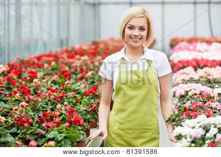 Women In Flowers.