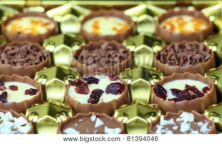 Assorted Chocolate Confectionery In Box