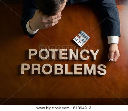 Phrase Potency Problems and devastated man composition