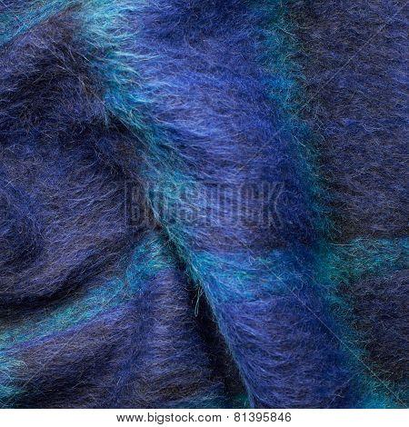 Striped blue jacket