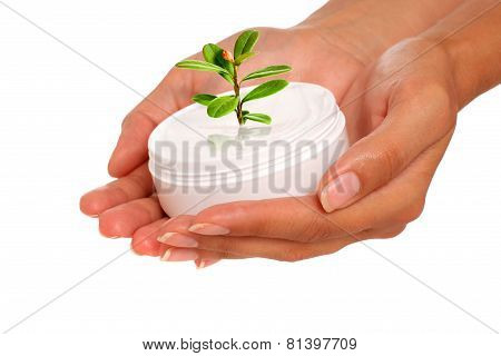Hands Or Body Care Concept.