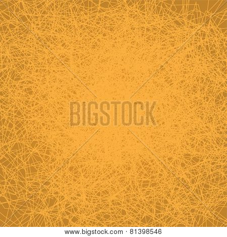 Vector illustration of golden abstract background